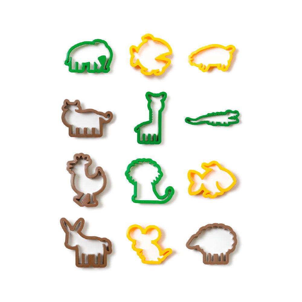Kit Cortadores de Animais (12pcs) - Decora