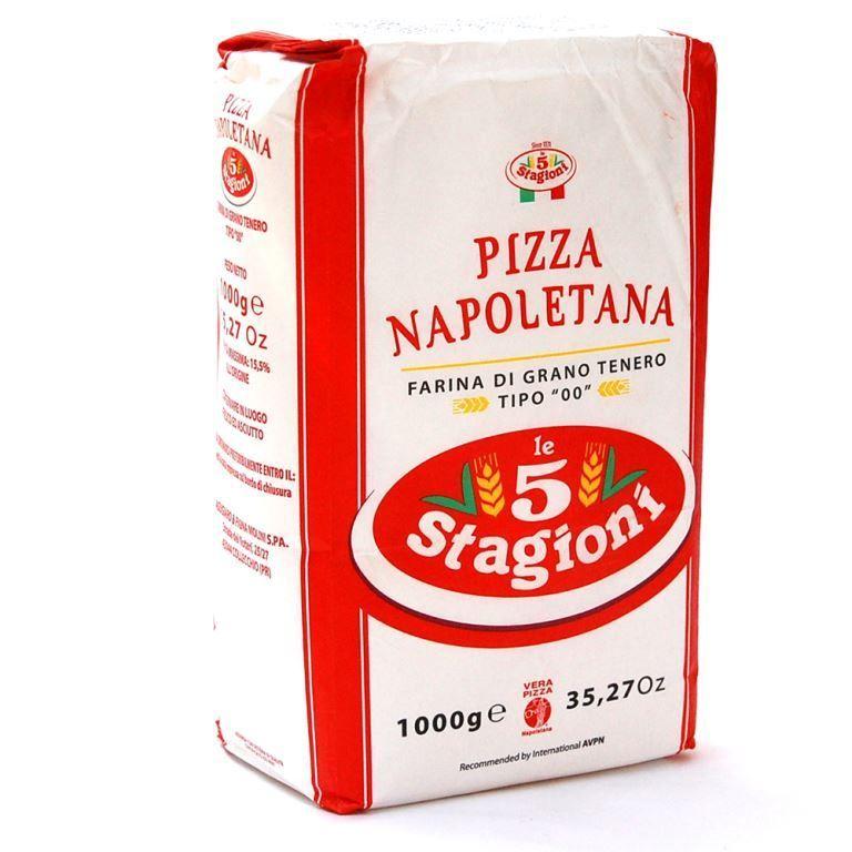 Farinha de Trigo 00 Pizza Napoletana (1kg) - le 5 Stagioni