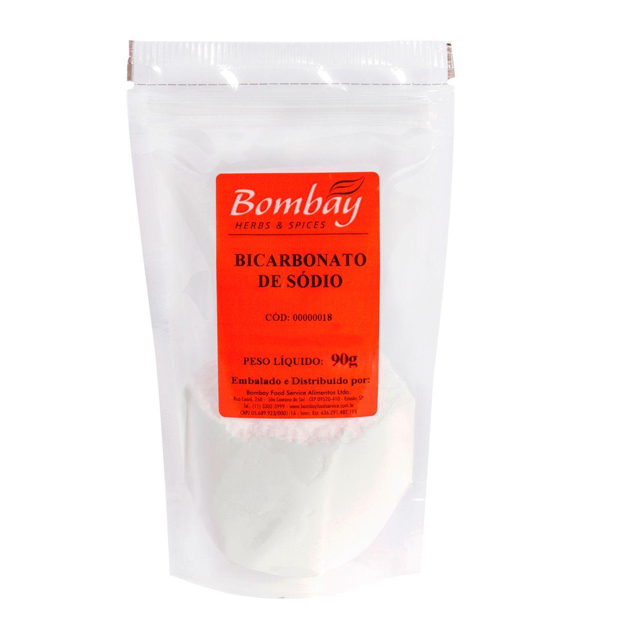 Bicarbonato de Sódio 90g - Bombay