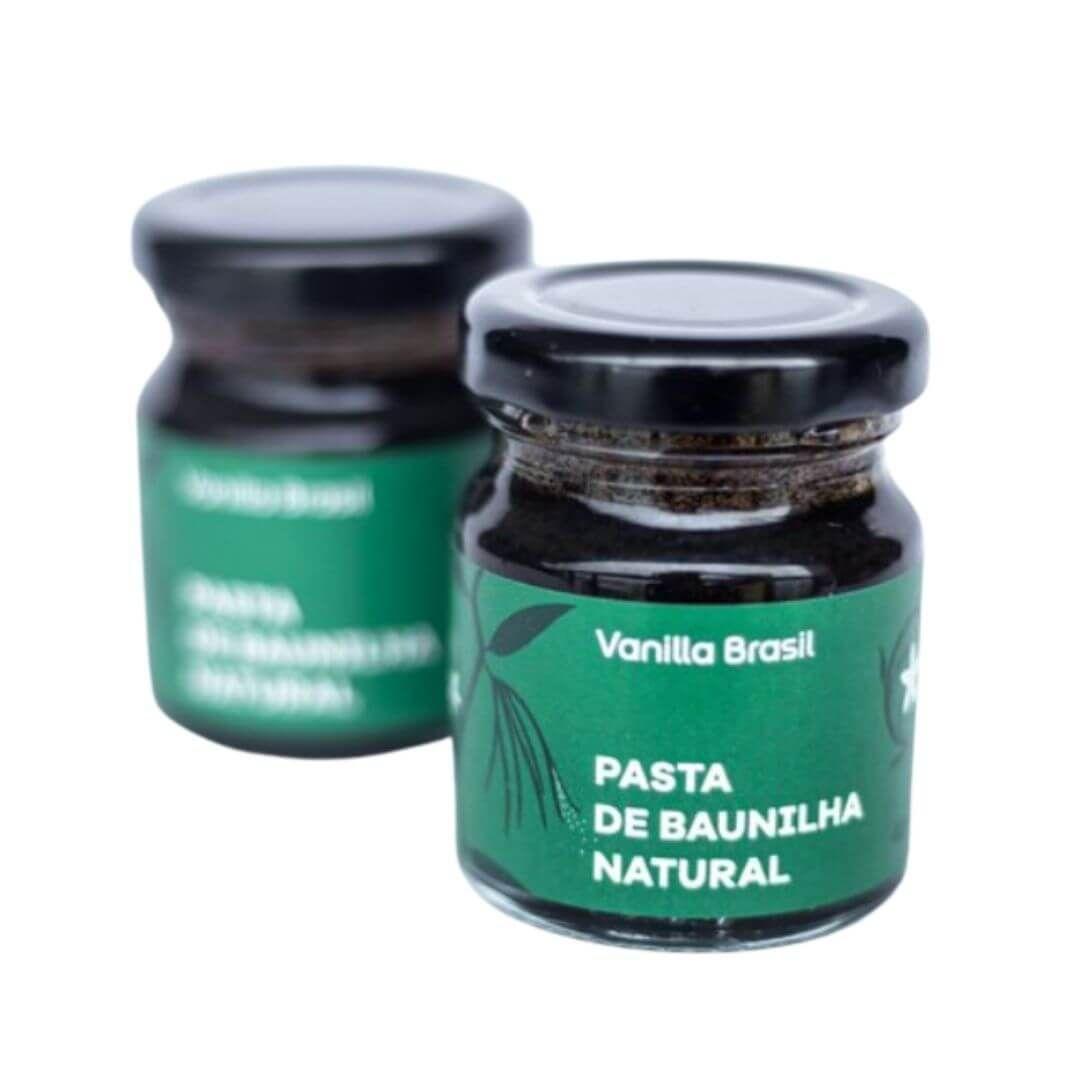 Pasta de Baunilha Natural (42g) - Vanilla Brasil