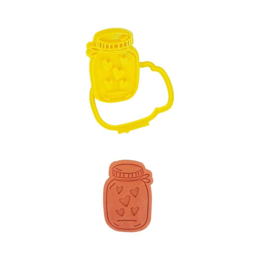 Cortador Pote Corações - Imprimire 3D