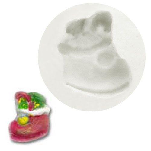 Molde de Silicone Bota de Natal Pequena 3 - Gummies