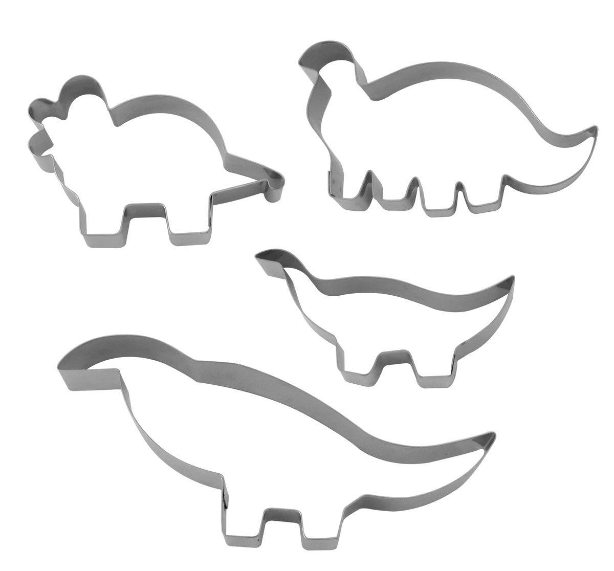 Kit Cortadores Dinossauros - RM
