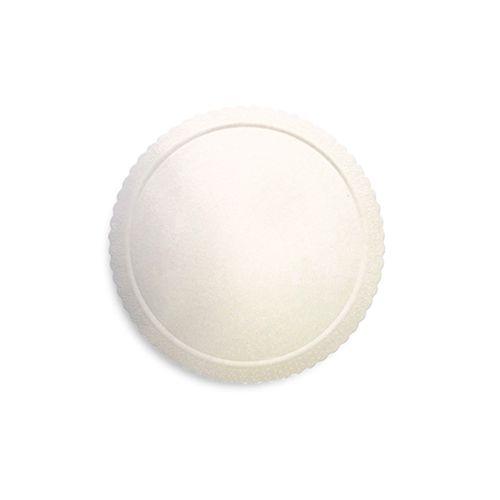 Base para Bolo Cakeboard Redonda Branca 24cm (10uni) – Ultrafest