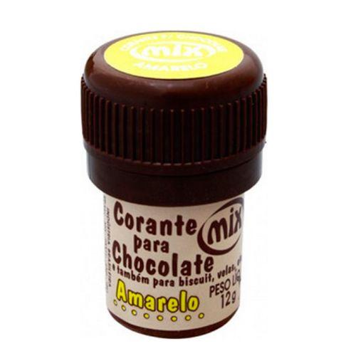 Corante para Chocolate Mix - Amarelo