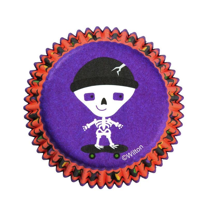 Forminha de Papel para Cupcake Esqueleto Skatista (75uni) - Wilton