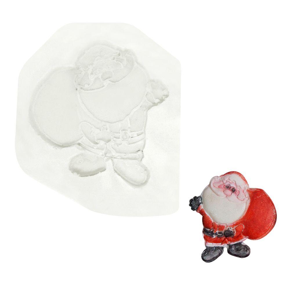 Molde de Silicone Papai Noel com Saco - Gummies