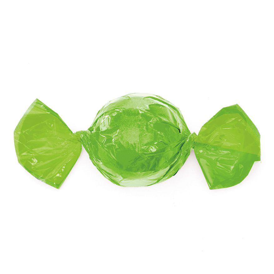 Papel para Embrulhar Trufas 14,5 x 15,5cm (100uni) Verde Maçã - Cromus