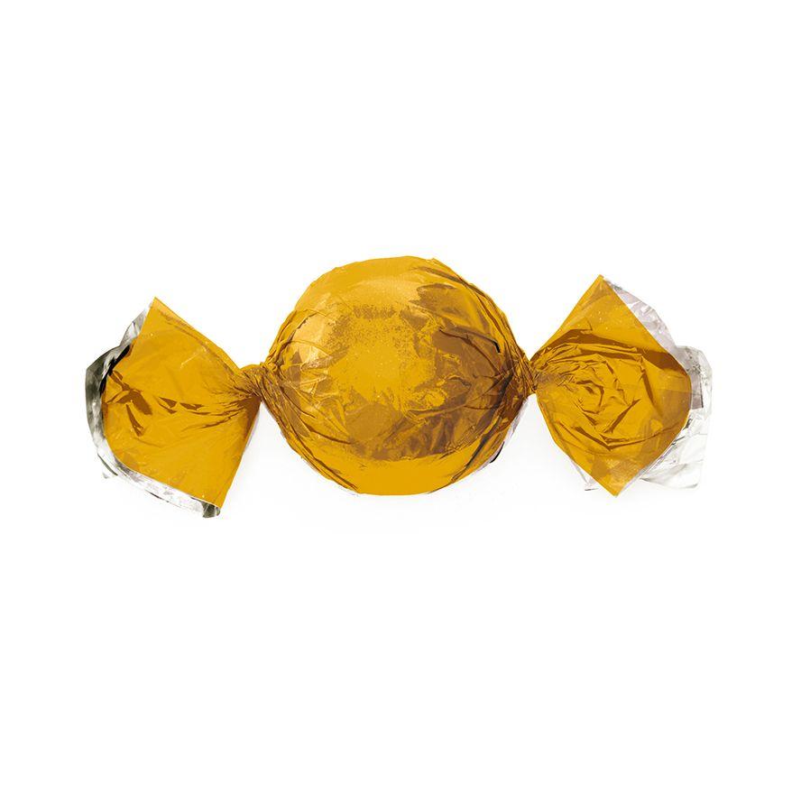 Papel para Embrulhar Trufas 14,5 x 15,5cm (100uni) Ouro - Cromus