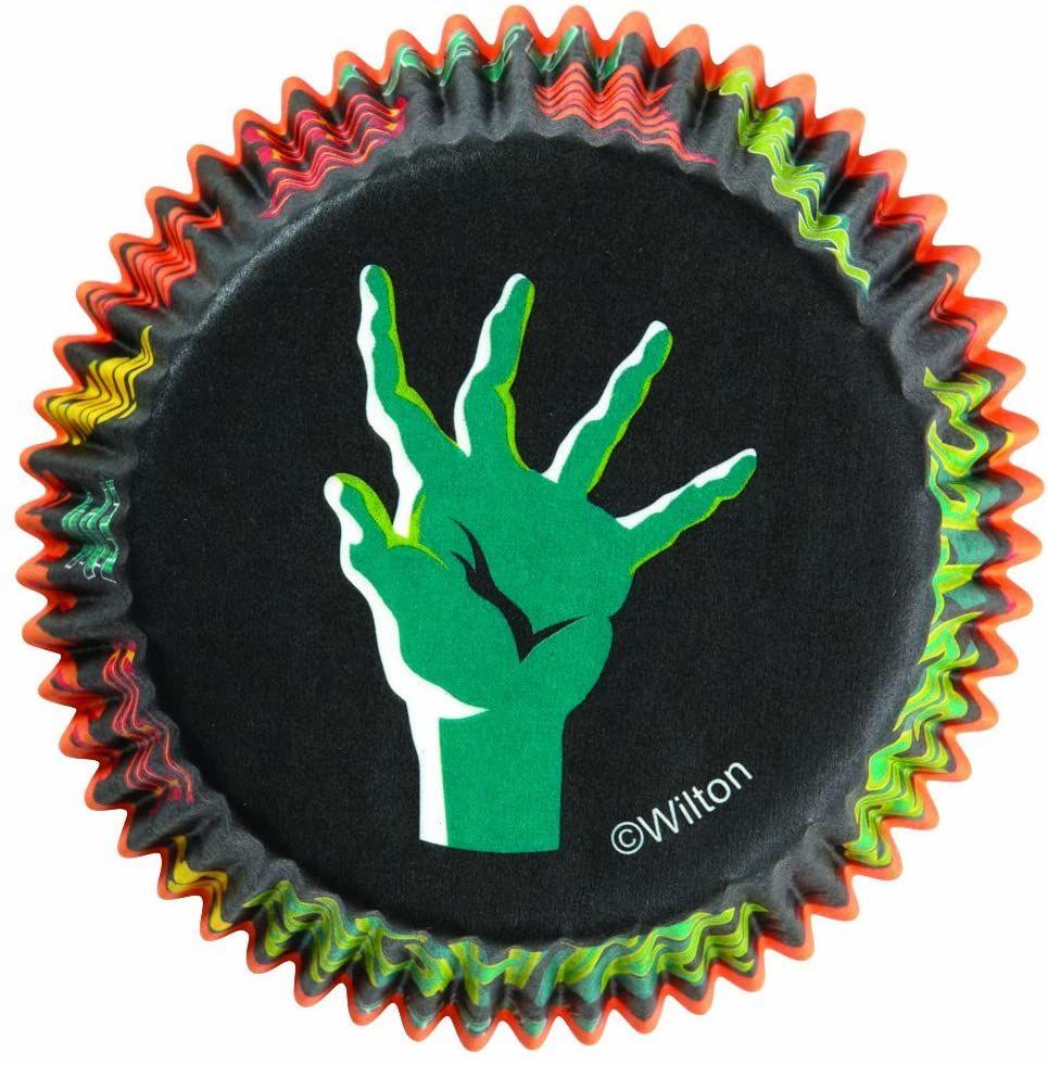 Forminha de Papel para Cupcake Zumbi (75uni) - Wilton