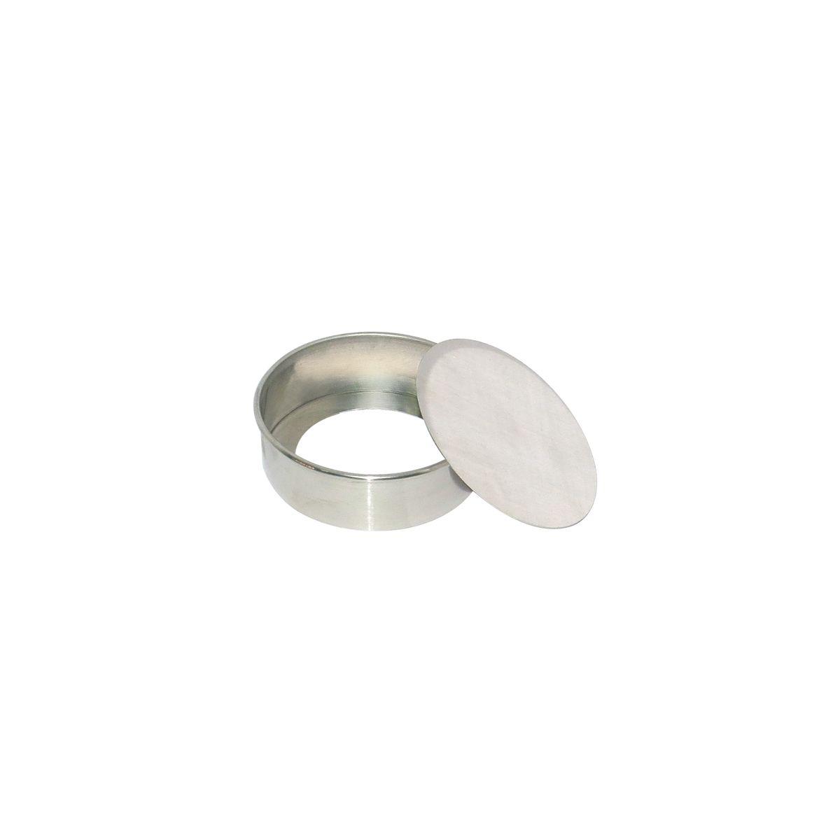 Forma de Bolo Redonda Fundo Falso (13 x 7cm) - Doupan