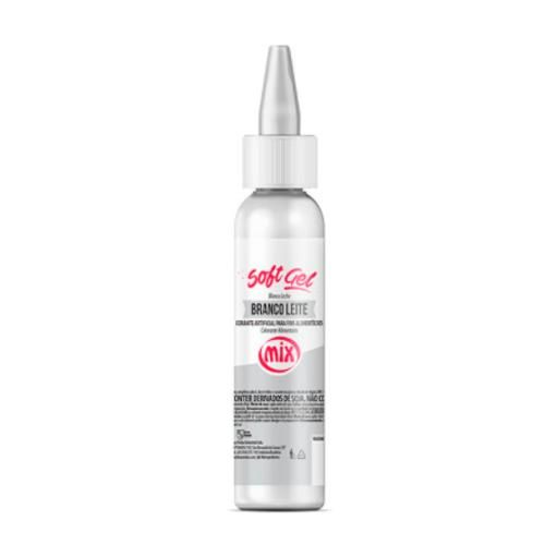Corante Softgel Mix 60g - Branco
