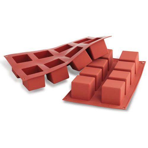 Forma de Silicone Cubo Médio - Silikomart
