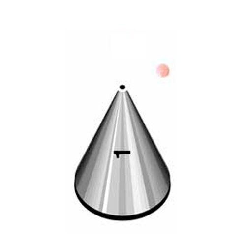 Bico de Confeitar Pequeno Perlê Liso nº 1 - Wilton