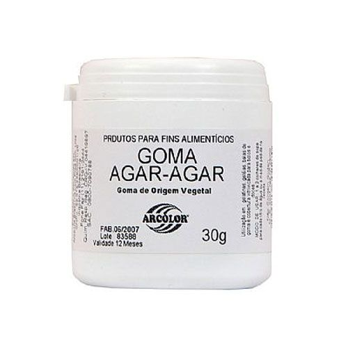 Goma Agar-Agar 30g - Arcolor