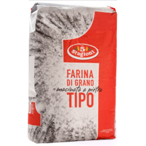 Farinha de Trigo Tipo 01 Macinata a Pietra (1kg) - le 5 Stagioni