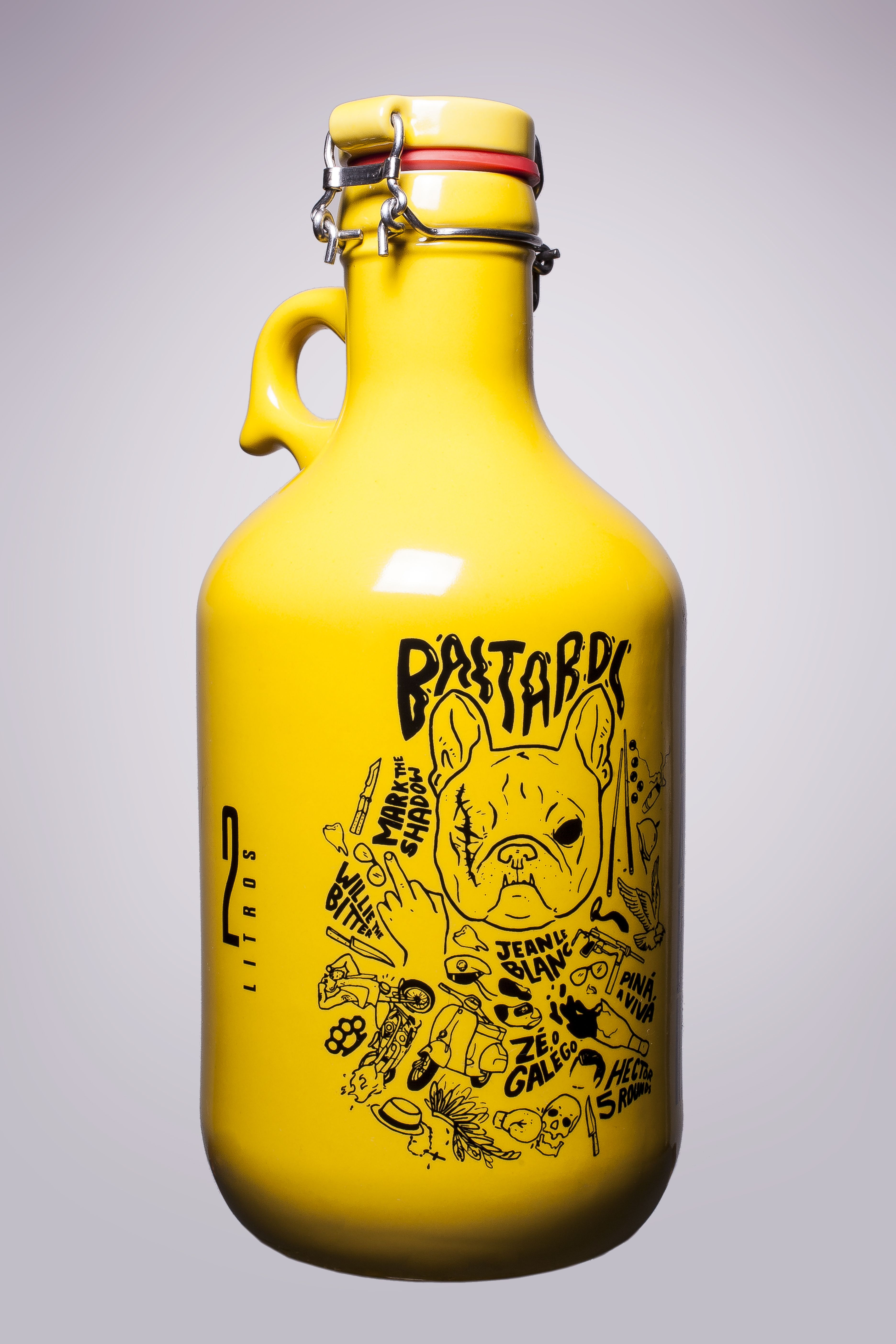 Growler Dog Bastardo Amarelo