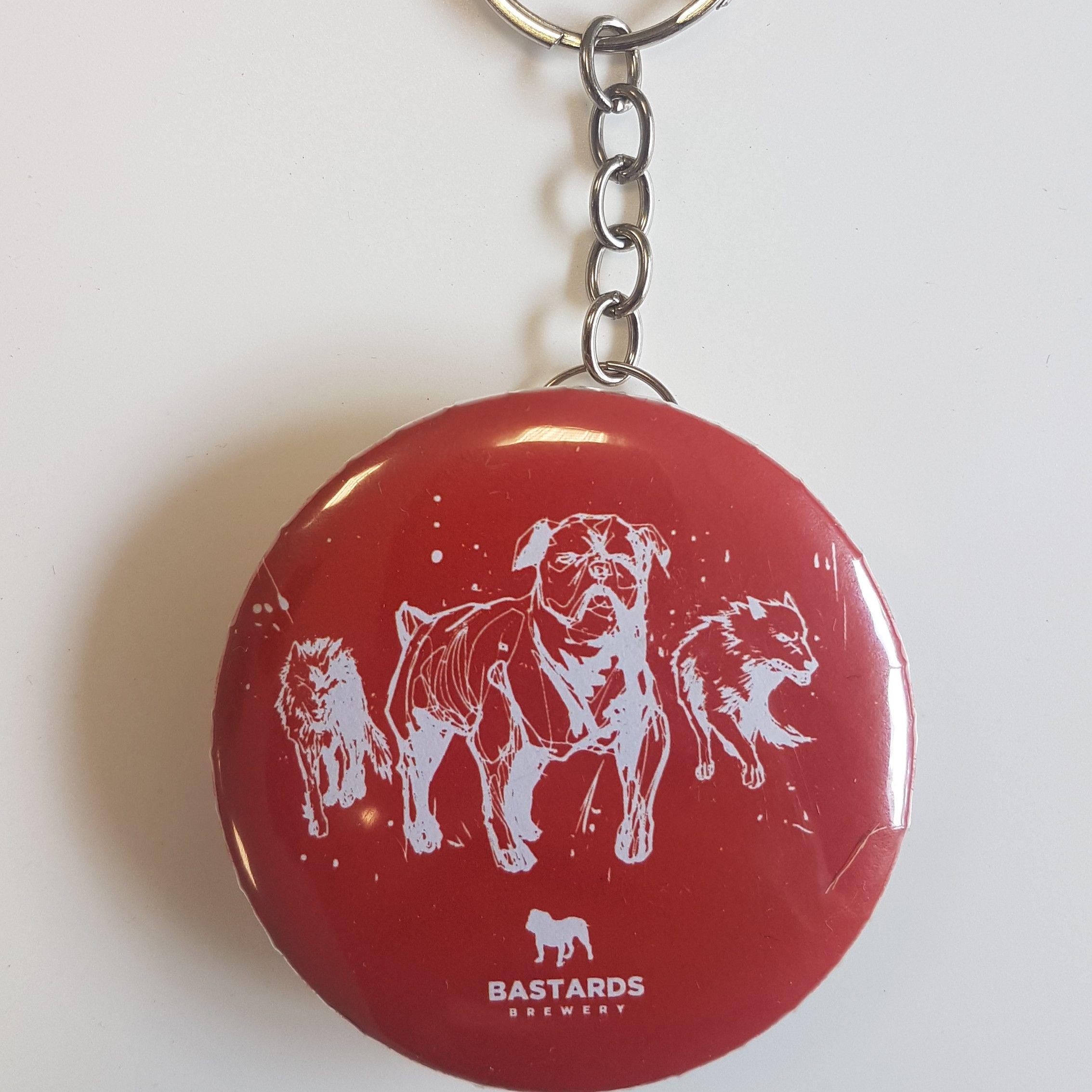 Abridor Chaveiro 3 Dogs Vermelho