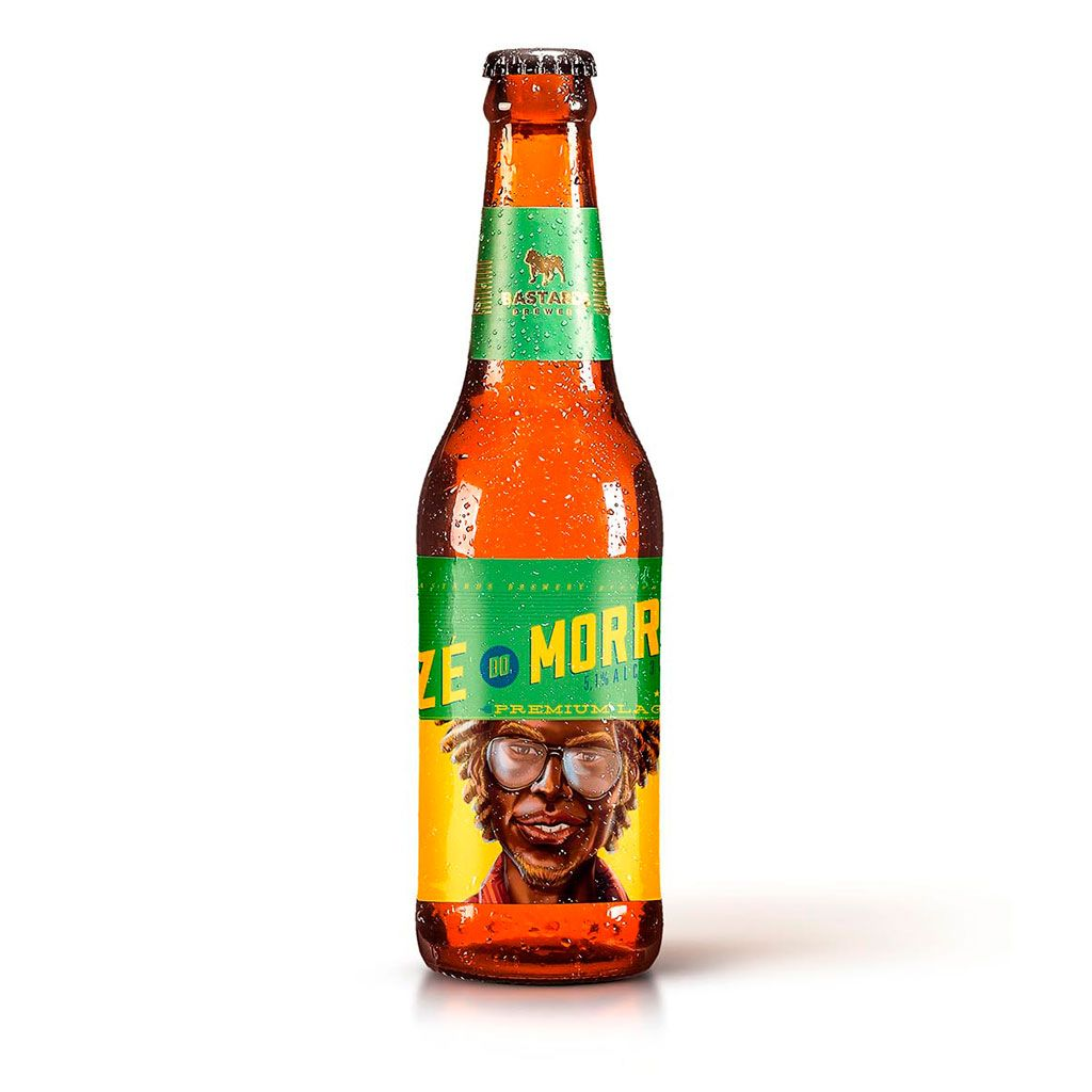Zé do Morro - Premium Lager - 355ml