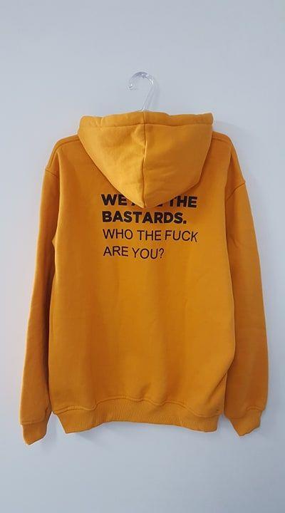 Moletom Bastards Amarelo