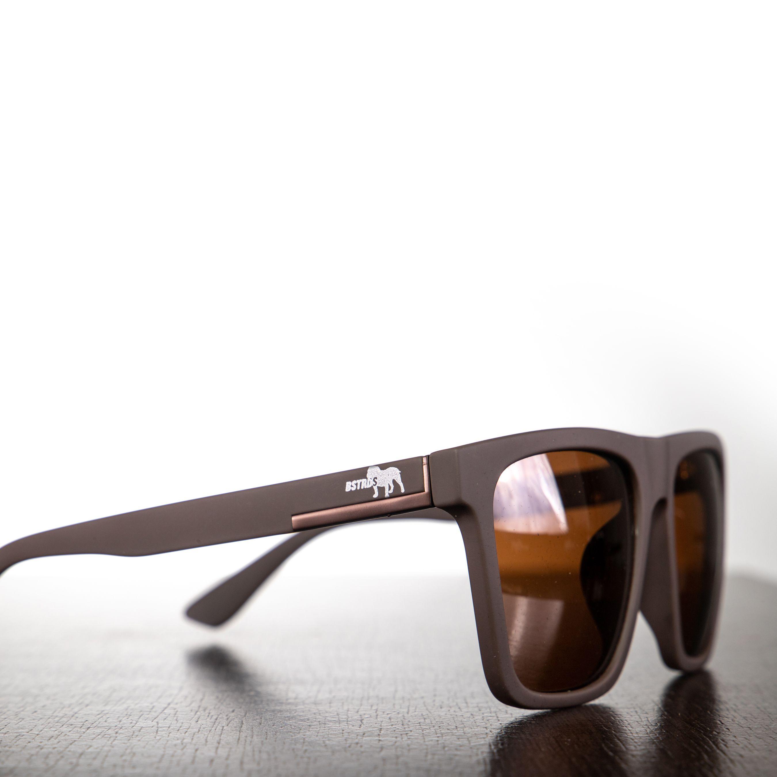 Óculos Marrom Quadrado