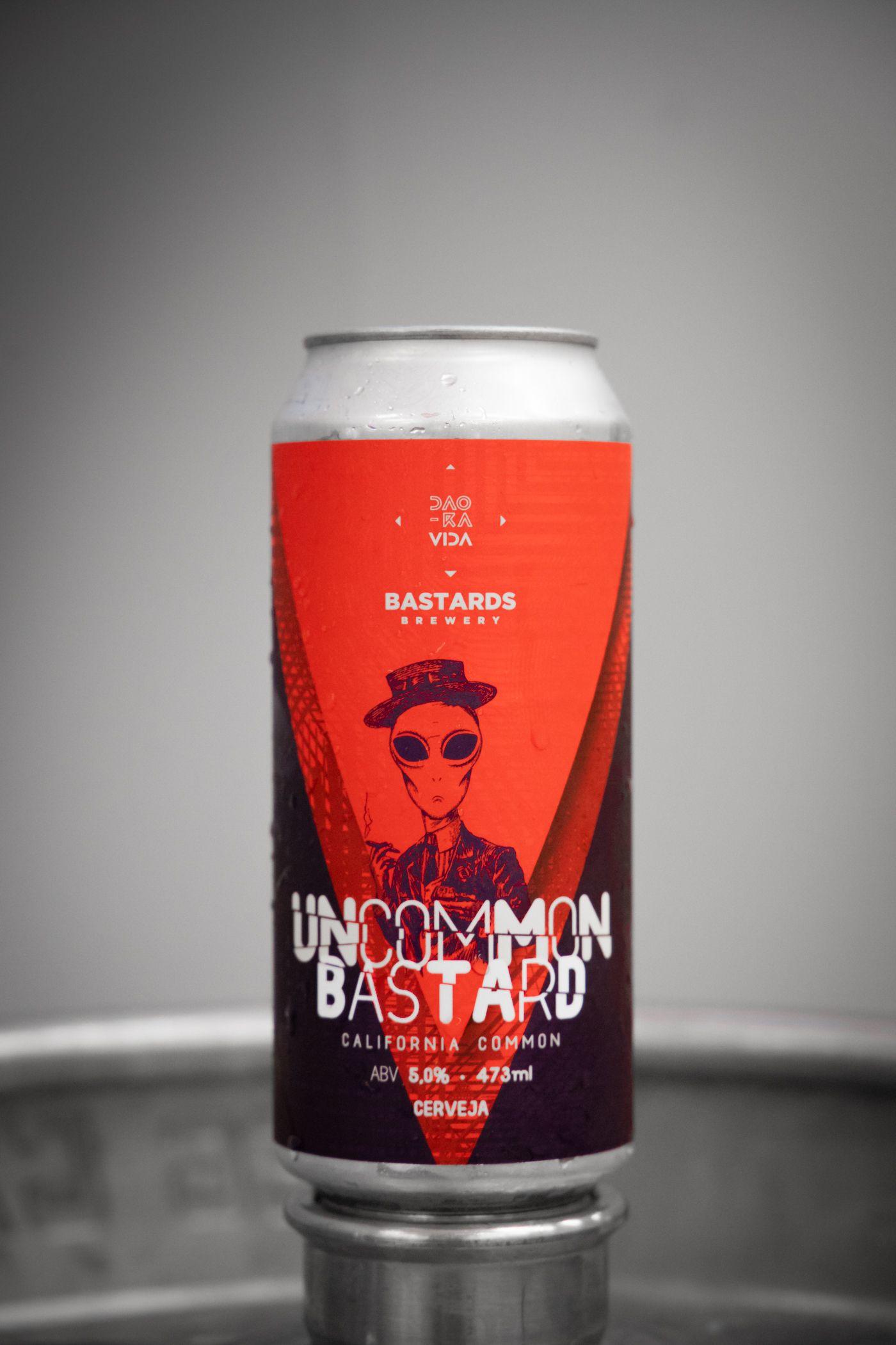 Uncommon Bastard - California Common - 473ml