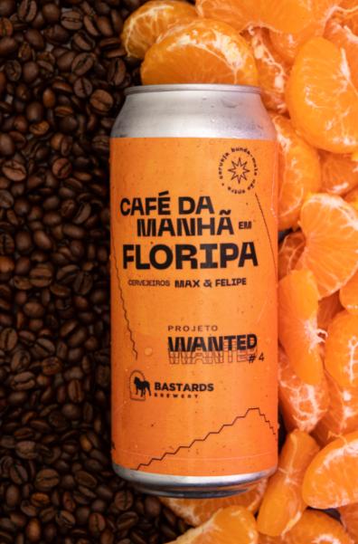 Café da Manhã em Floripa - Sour com Bergamota e Café - 473 ml