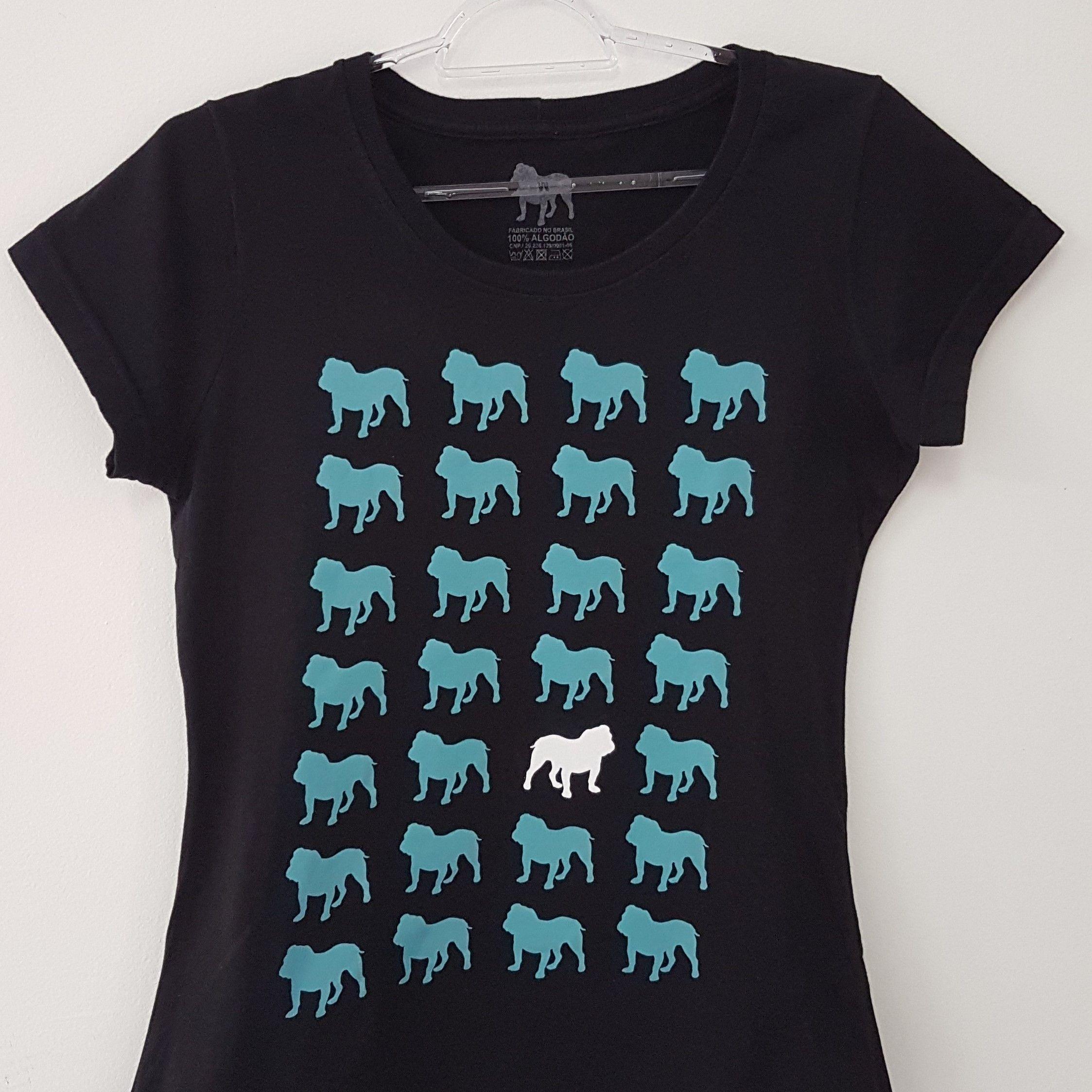 Camiseta Feminina - Grade de Dogs