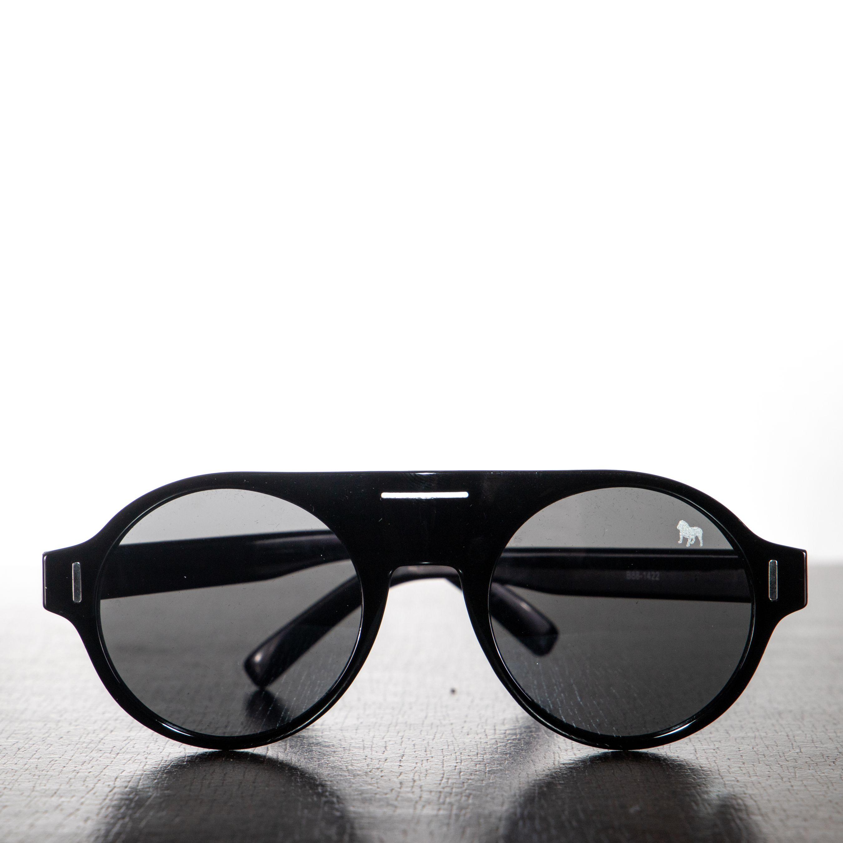 Óculos Redondo Preto