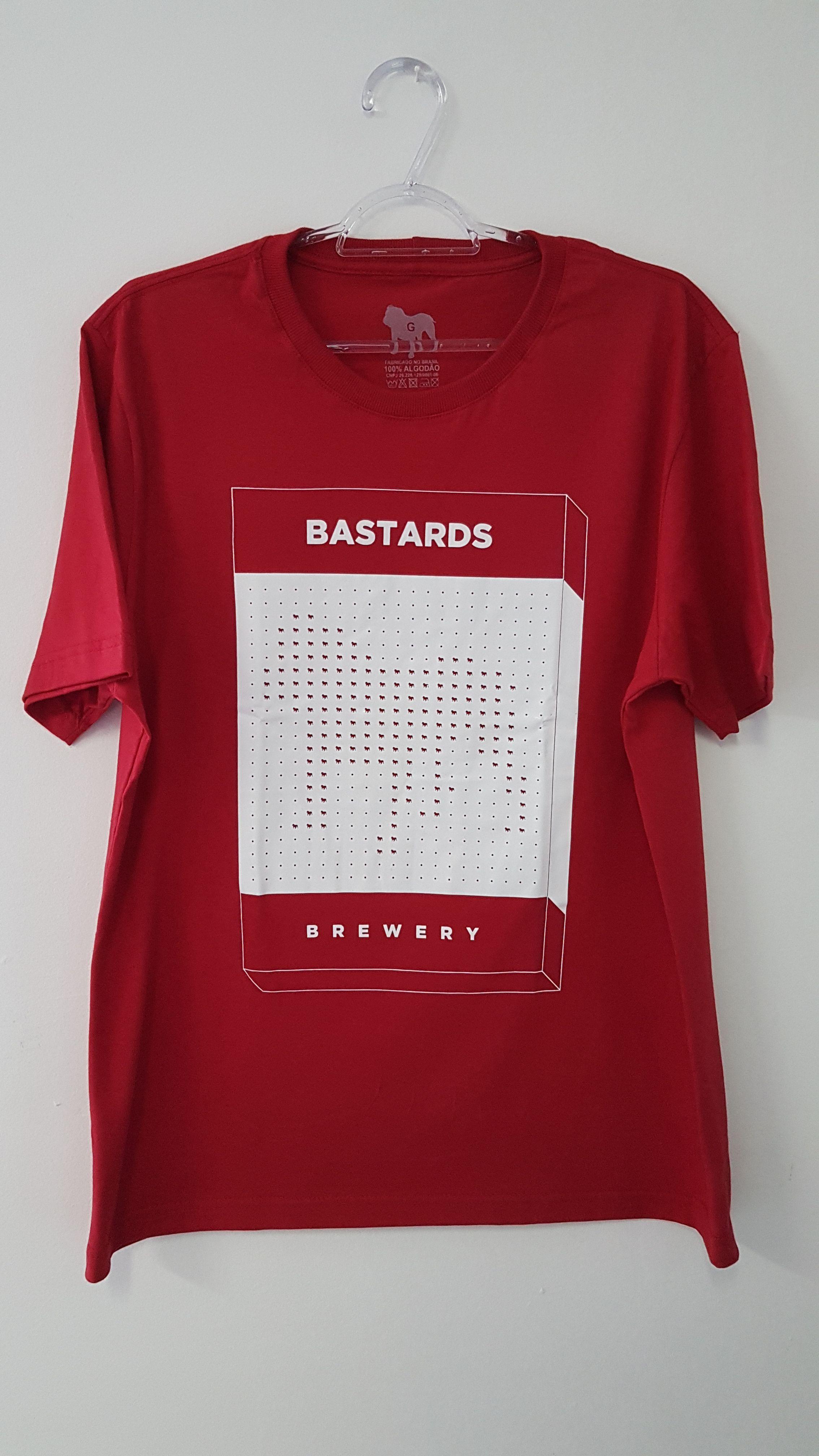 Camiseta Box Vermelha