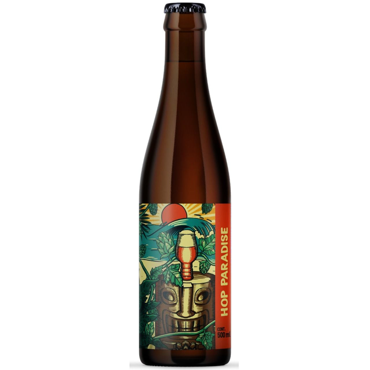 Hop Paradise - American Wheat IPA - 500ml | Gobe Craft Beers