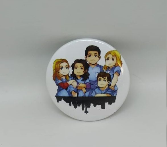 KIT 4 Buttons - Grey's Anatomy