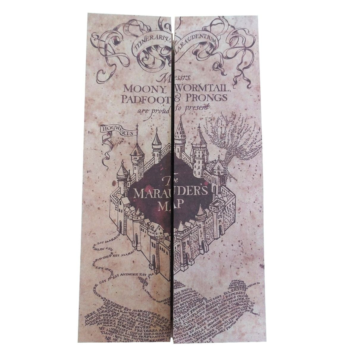 Mapa Do Maroto - Marauder's Maps Potter Harry