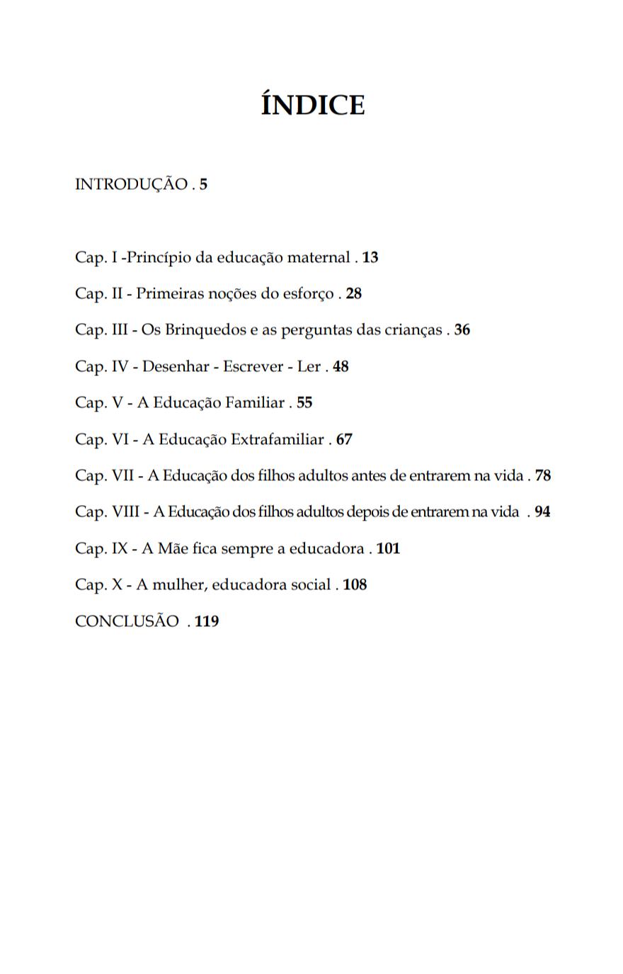 O Livro da Educadora