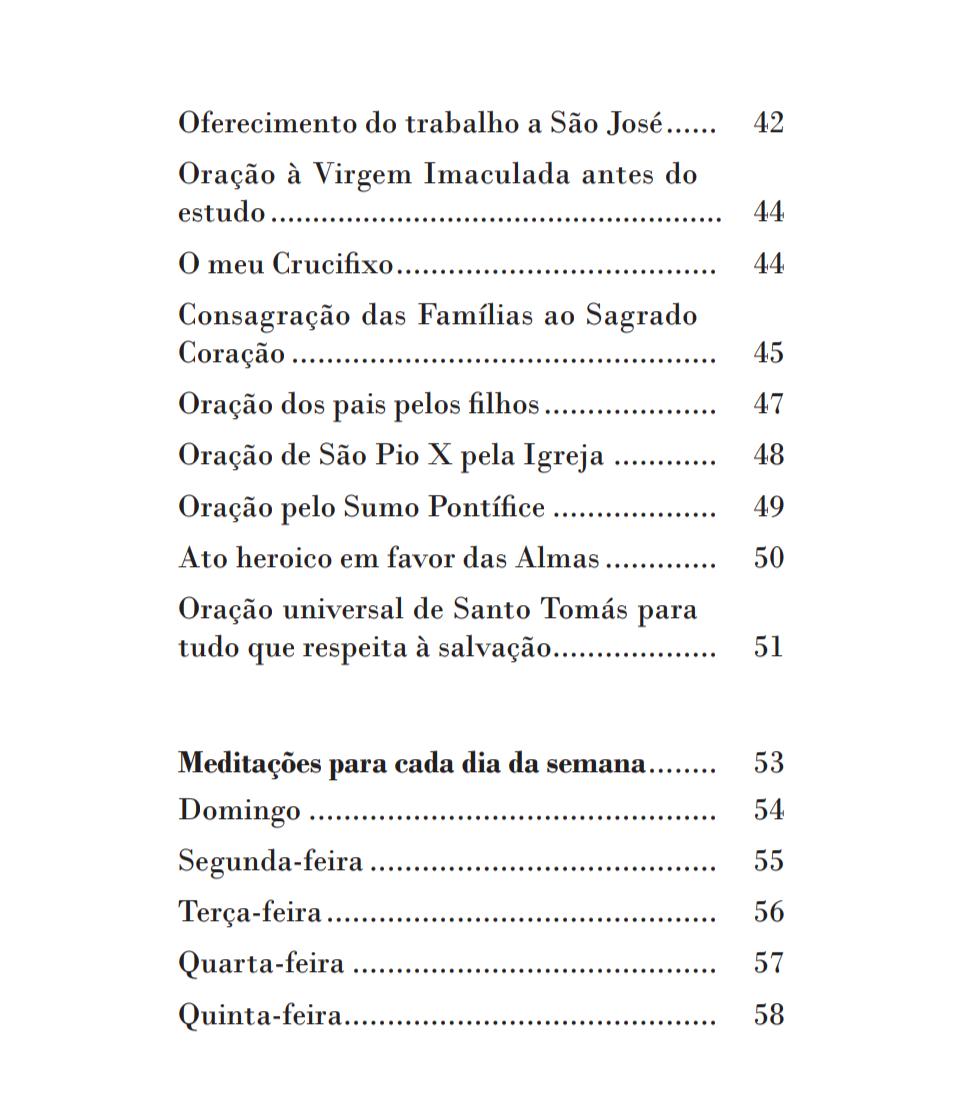 Devocionário quotidiano (Latim e Português)