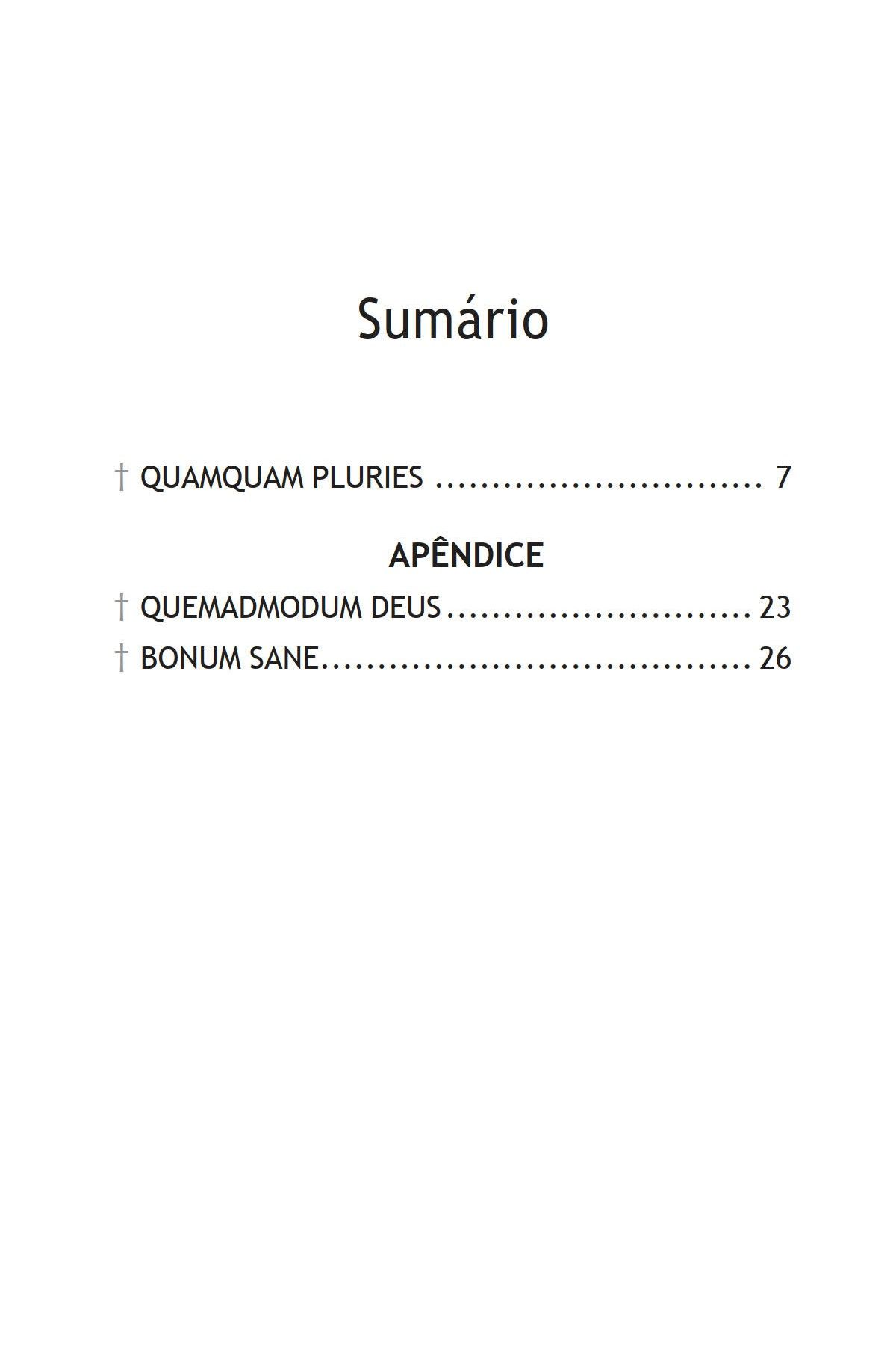 Encíclica Quamquam Pluries