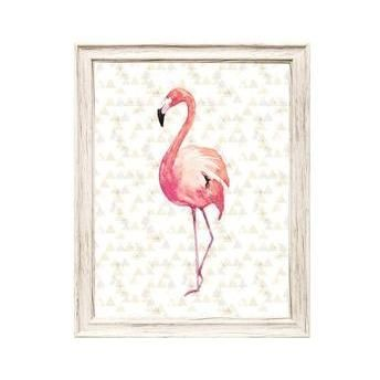 Quadro Canvas Flamingo