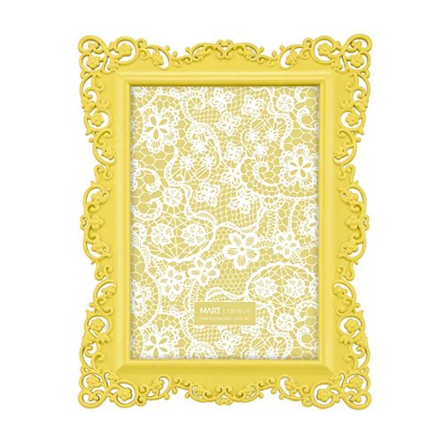 Porta Retrato Arabesco Amarelo