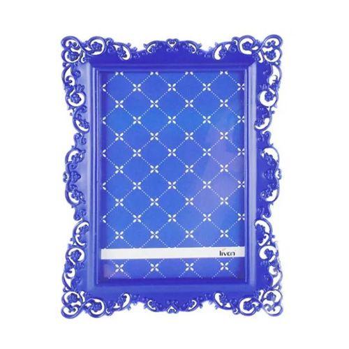 Porta Retrato Ornamental Azul