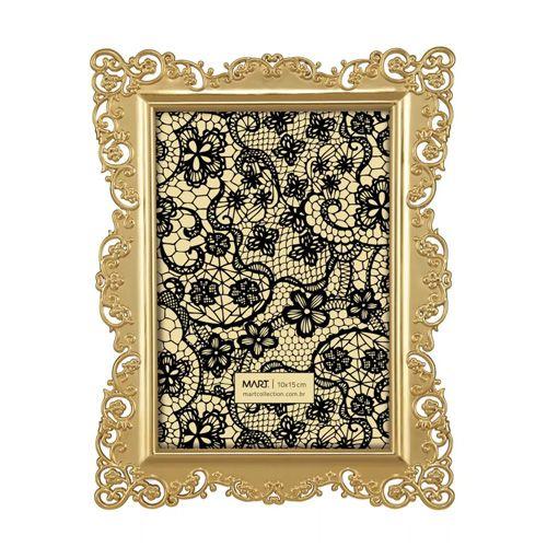 Porta Retrato Arabesco Dourado