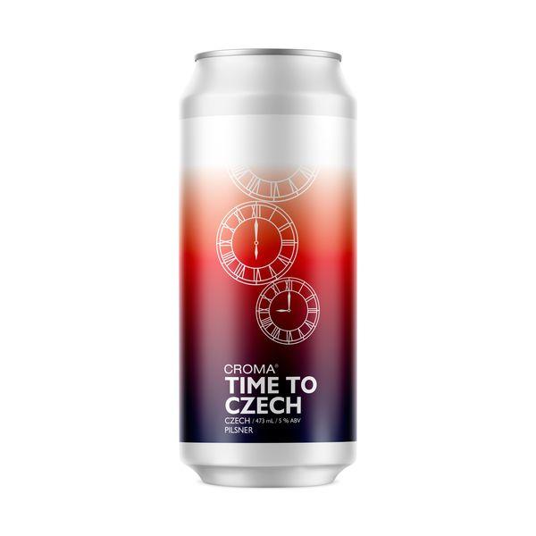 Cerveja Time To Czech Pilsen 473ml