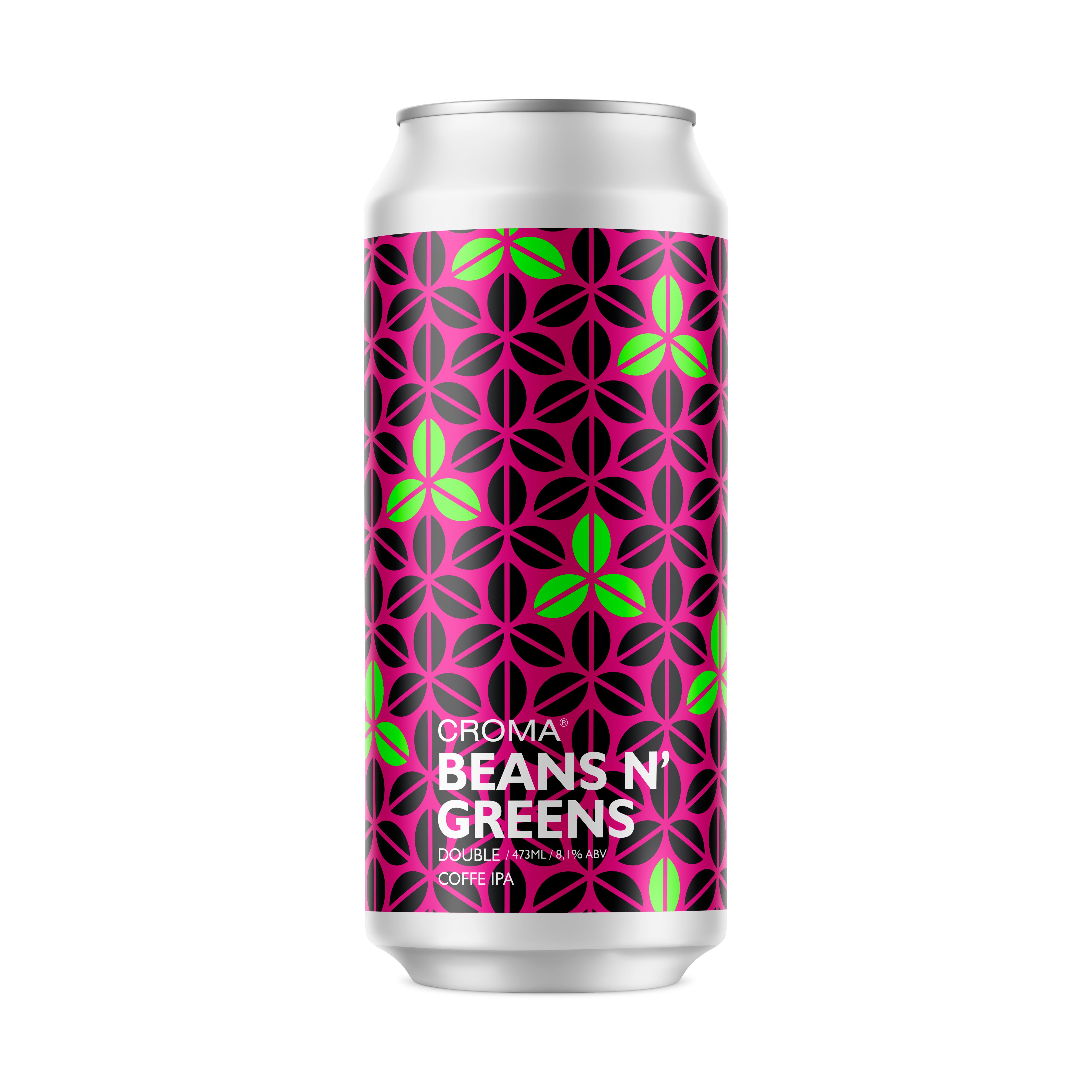 Cerveja Beans N´ Greens 473ml