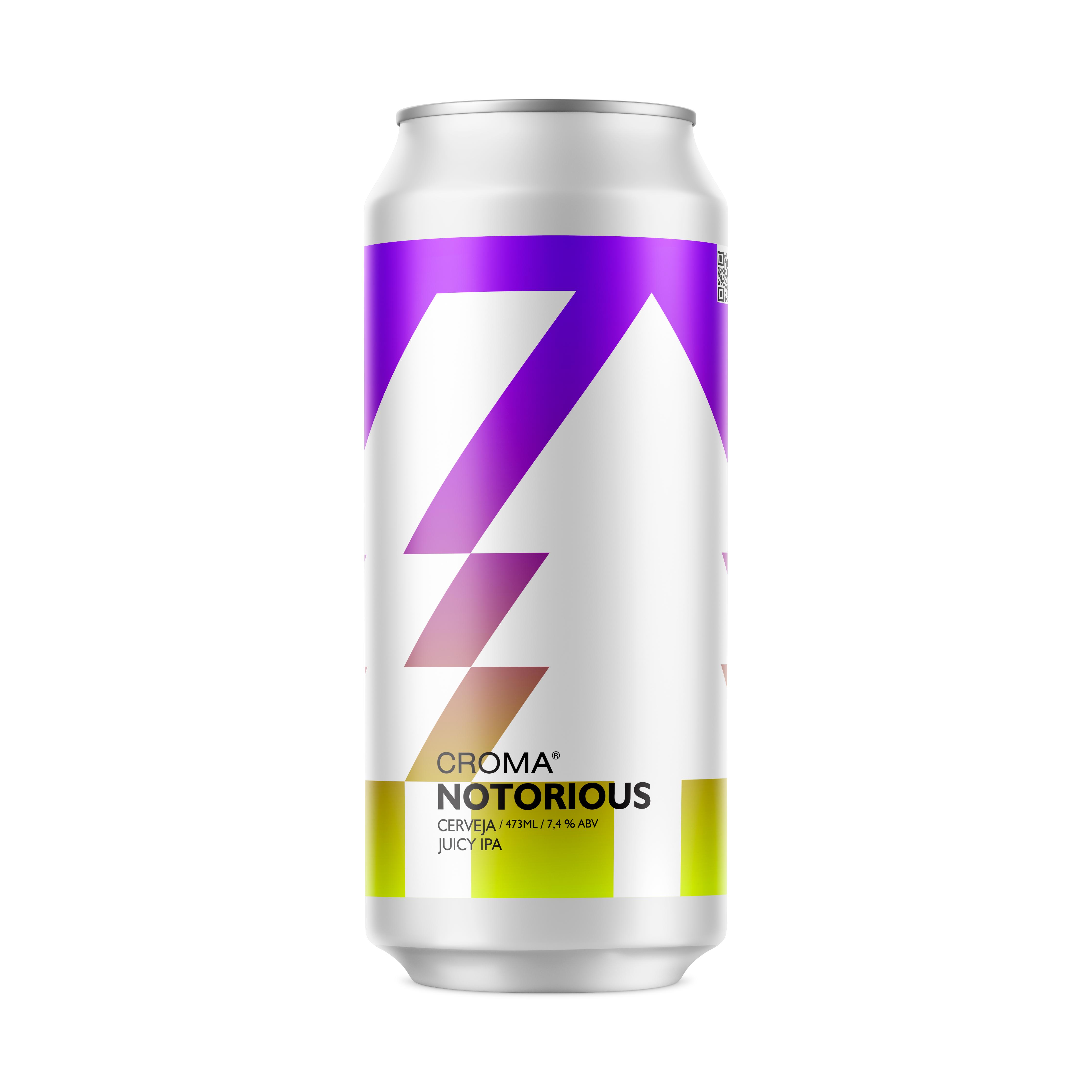 Cerveja Notorious - 473ML