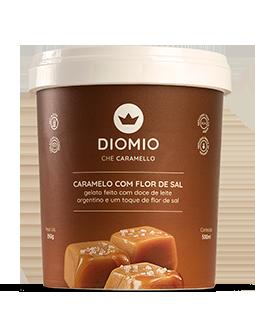Gelato Caramelo com Flor de sal
