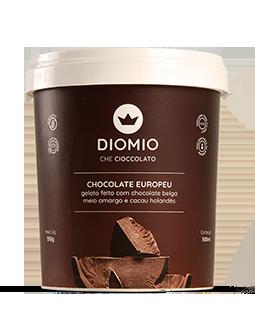 Gelato Chocolate Europeu
