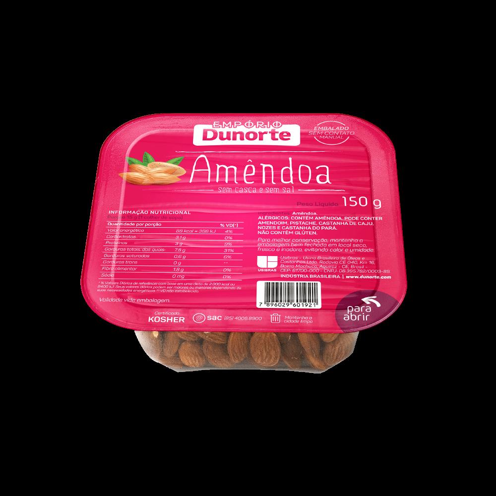 Amêndoa Chilena Natural 150g