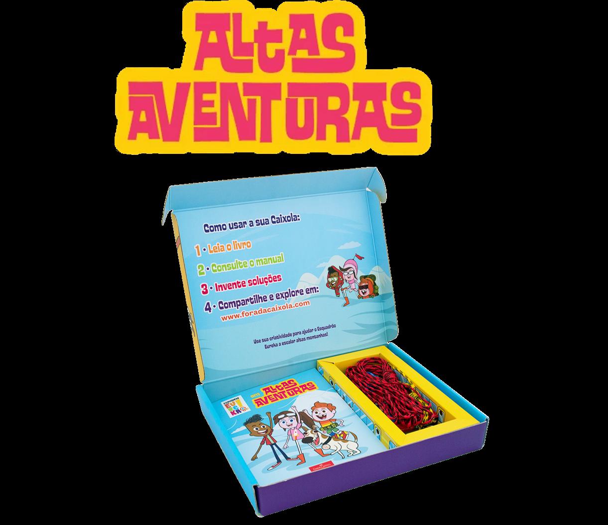 Altas aventuras e o atlas mais completo do mundo