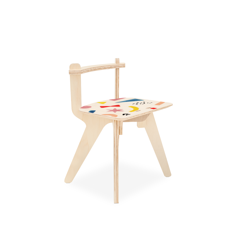 Cadeirinha Popota Luciana Gnoatto - Abstract Play Color