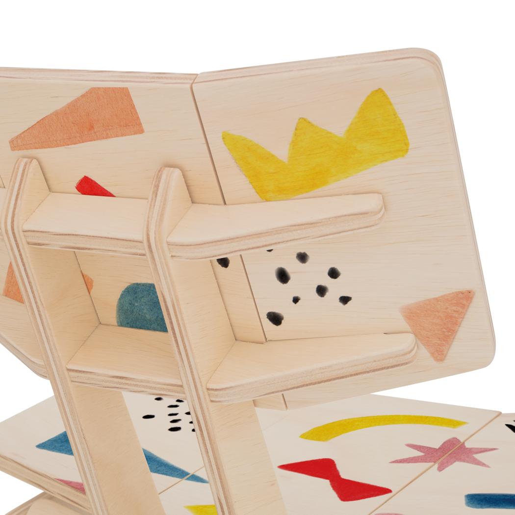 Cadeirinha Infantil Carambelinha Luciana Gnoatto Abstract Play Color