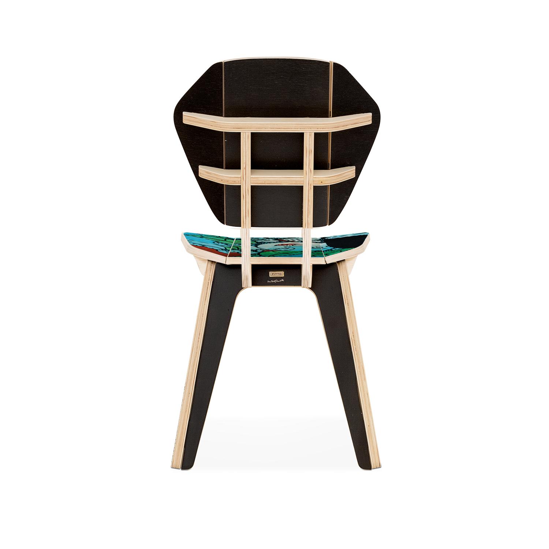 Cadeira Pétala Ilton Silva - Seres Extraordinários